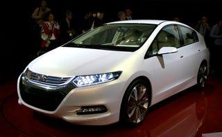 Illustration for article titled 2010 Honda Insight Concept: Hybrid For The Masses