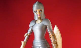 Illustration for article titled Crowdfund Armor For Barbie Dolls And Steve Ditko's Latest Comic