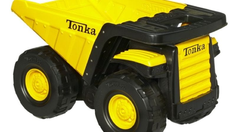 Illustration for article titled Sony, Hasbro, and Happy Madison to begin smashing Tonka Trucks movie together