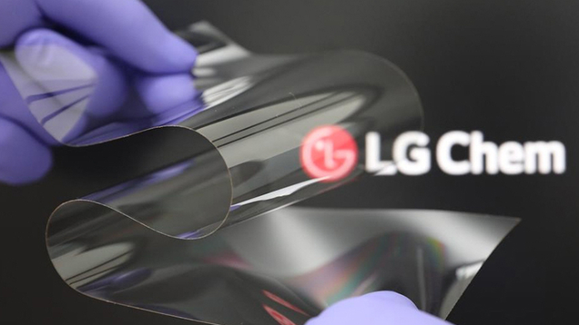 LG Shows Off Foldable Plastic Display That Promises to Be As Hard As Glass