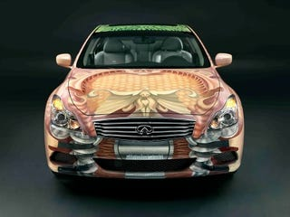Illustration for article titled Infiniti G37 Anniversary Art Project