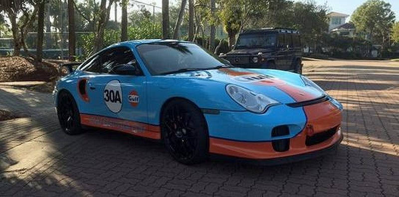 Illustration for article titled For $45,500, This 2001 Porsche 911 Turbo Might Engulf You