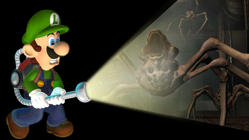 Illustration for article titled The Best Horror Game Weapon Is A Flashlight