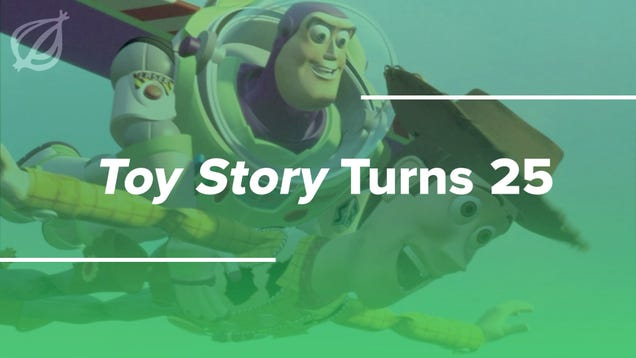 'Toy Story' Turns 25