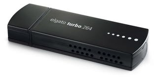 Illustration for article titled Elgato's Turbo 264 USB Stick Encodes H.264 for Your iPod, iPhone and Apple TV