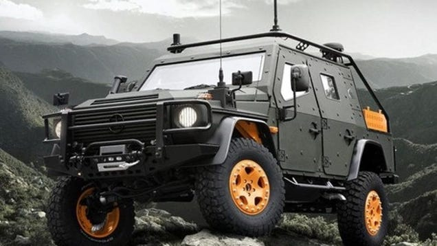 mercedes benz g wagon lapv 6 x armor plated military hardass. Black Bedroom Furniture Sets. Home Design Ideas