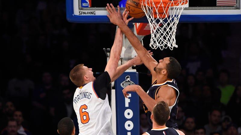 Hayward makes triumphant return as NBA Jazz beat Knicks
