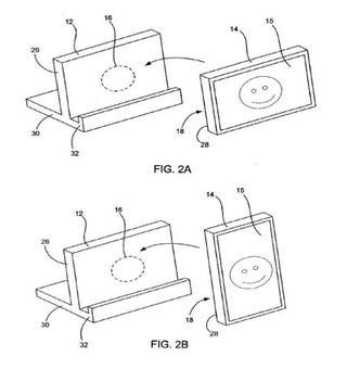 Illustration for article titled Apple Patent Application Describes Multi-Orientation Docks