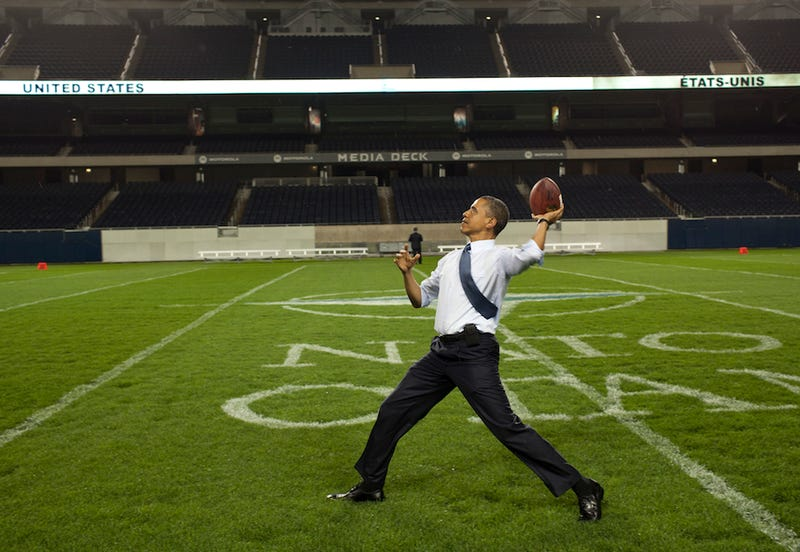 Illustration for article titled President Obama Talks Football And The NCAA