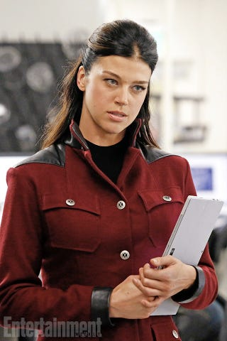 Illustration for article titled First Look At Adrianne Palicki As Agents Of SHIELD's Mockingbird