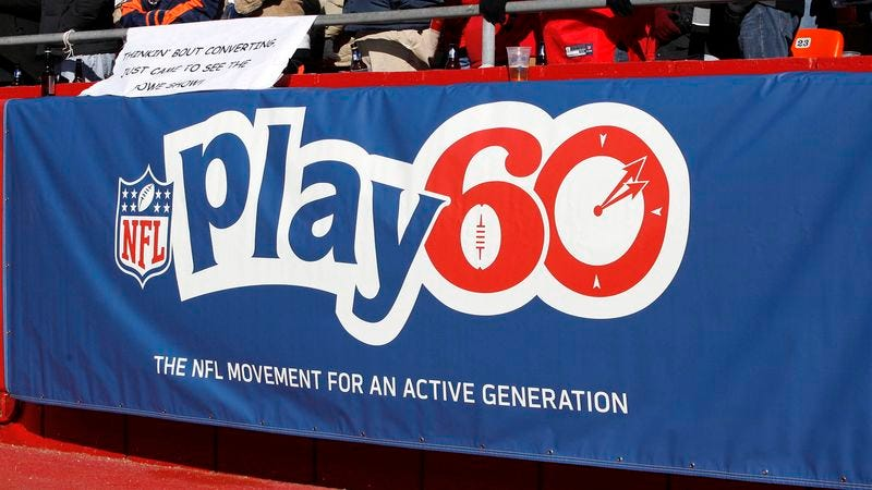 Illustration for article titled New, More Realistic 'NFL Play 60' Campaign Encourages Kids To Be Active For 60 Seconds A Week