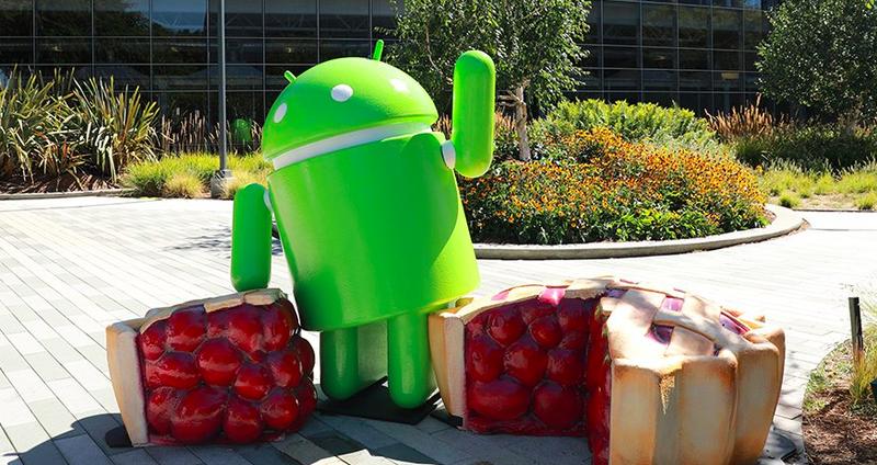 Móviles con el OS Android Pie 9