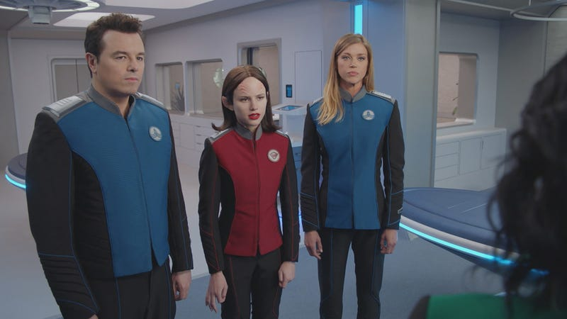 Illustration for article titled A crew member departs on an otherwise middling TheOrville