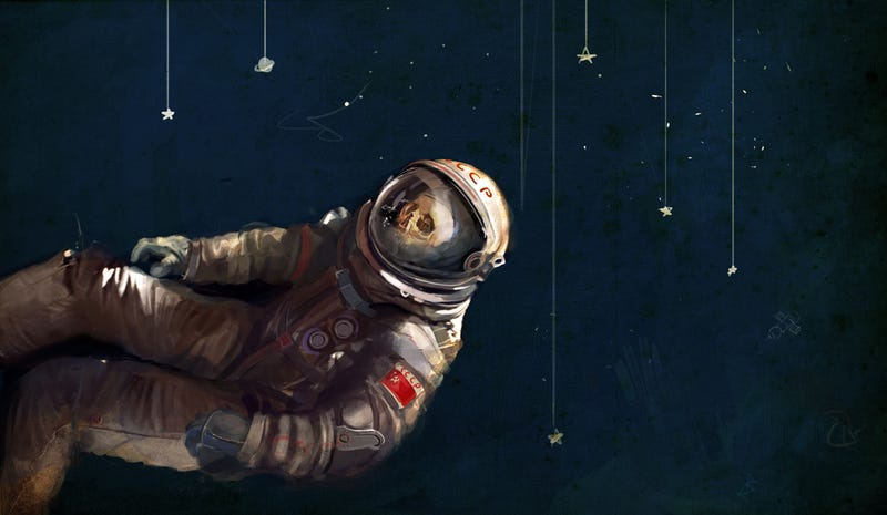 Illustration for article titled The Cosmonaut's Heaven