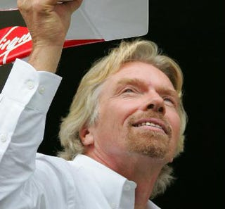 Illustration for article titled Billionaire Richard Branson Will Be a Flight Attendant After Losing a Bet