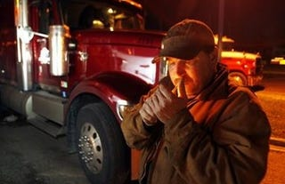 Illustration for article titled Canadian Trucker Fined For Smoking In Truck