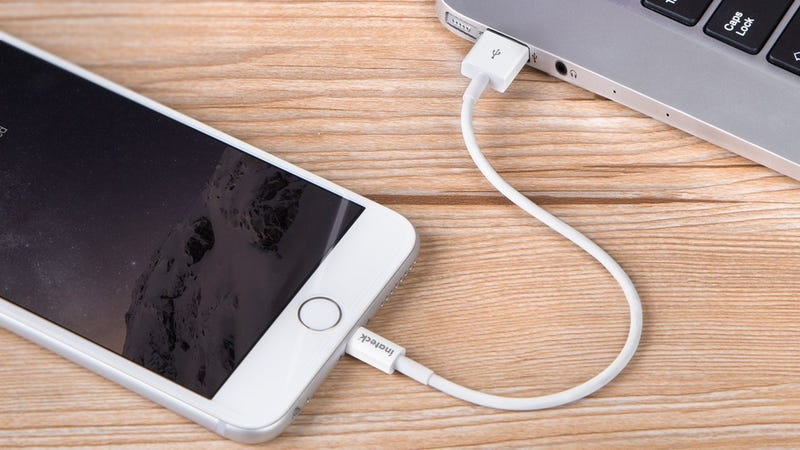 Inateck LIghtning Cable, $4 with code 676PVGQD