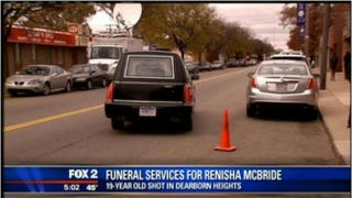 Friends and family on Friday said goodbye to 19-year-old Renisha McBride.Fox 2 Detroit