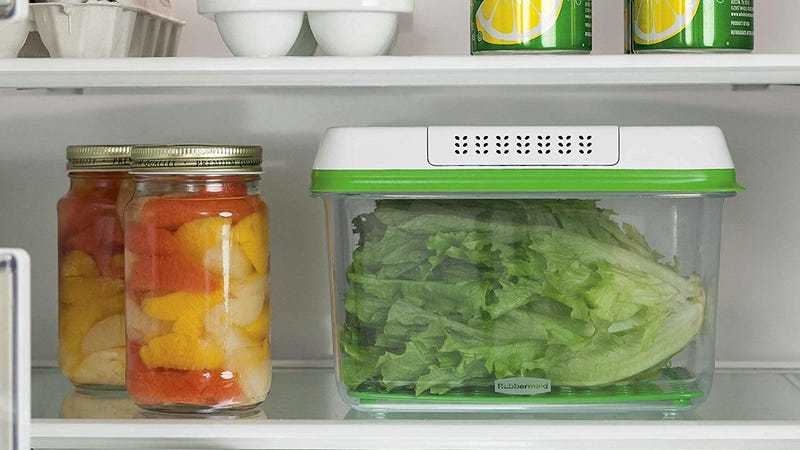 Rubbermaid FoodSaver Large Container | $8 | AmazonRubbermaid FoodSaver Medium Container | $6 | AmazonRubbermaid FoodSaver Small Container | $5 | Amazon