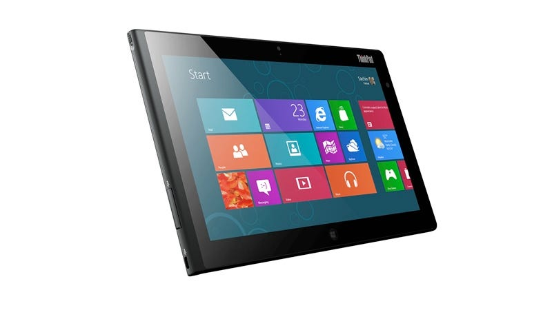 Illustration for article titled Lenovo ThinkPad Tablet 2: Looks Like a Tablet, Behaves Like a PC