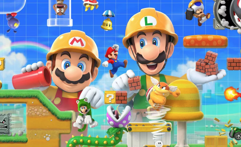 Illustration for article titled Playing As Luigi In Super Mario Maker 2 Probably Won't Help You Complete Levels Faster