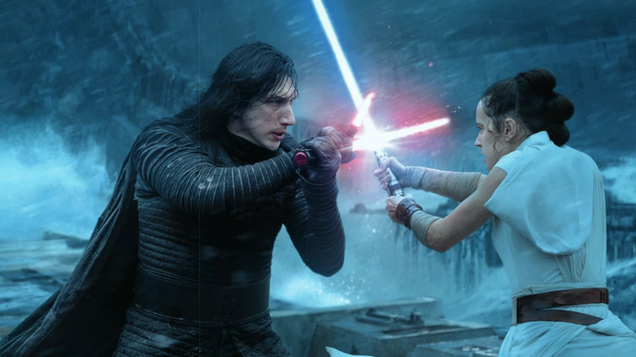 This The Rise of Skywalker Concept Art Turns Dark Rey Into Kylo Ren s Successor