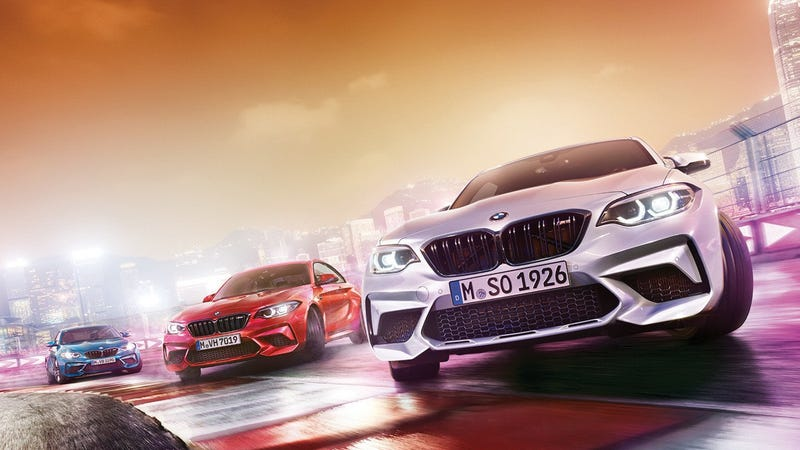 Illustration for article titled Here's The 410 HP BMW M2 Competition Before You're Supposed To See It
