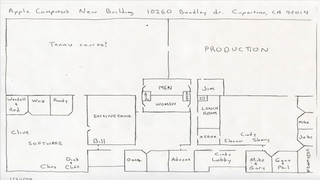 Illustration for article titled An Unearthed, Hand Drawn Sketch of Apple's 70s HQ