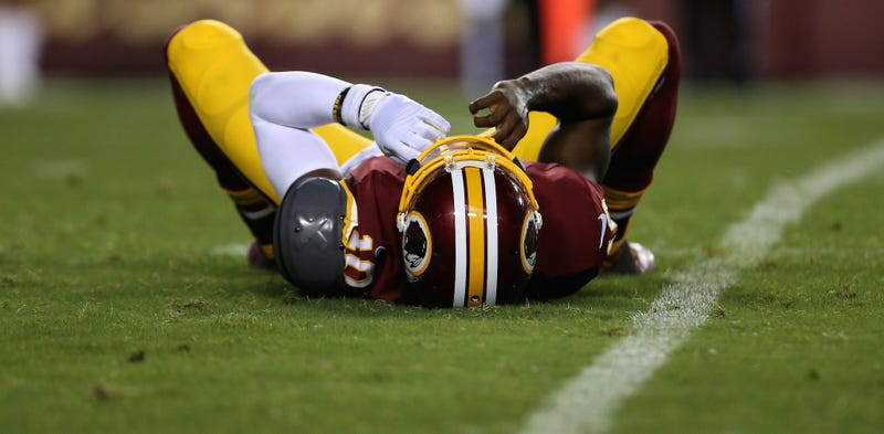 Illustration for article titled What's Going On With Jay Gruden And RGIII?