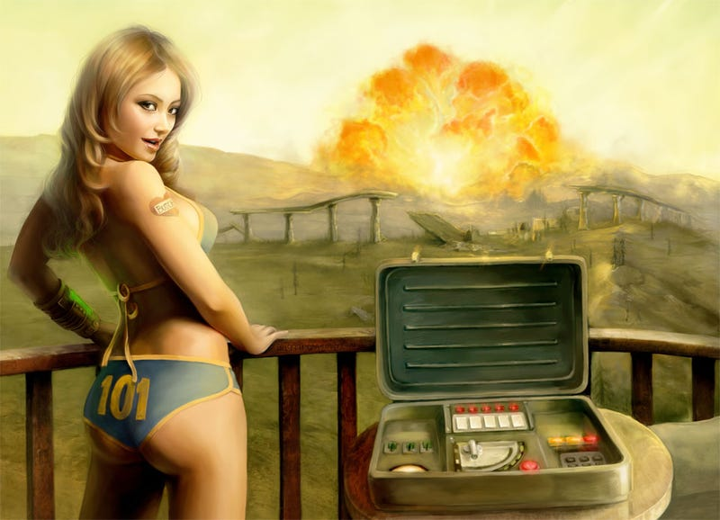 Illustration for article titled Vault Bikinis Offer Little Protection Against Fallout Mini-nukes