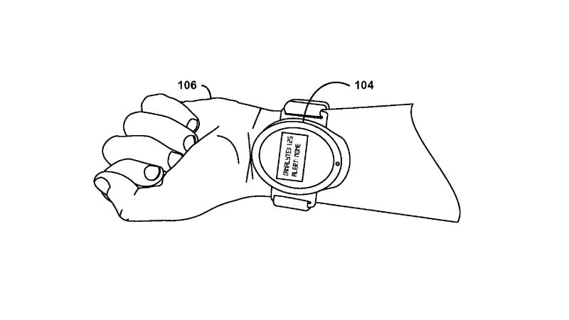 Illustration for article titled Google Wants to Patent a Blood-Sucking Smartwatch