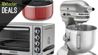Illustration for article titled Upgrade Everything in Your Kitchen, Cheap Game Consoles, & More Deals