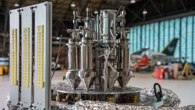 NASA Runs Successful First Tests of Compact Nuclear Reactor for Mars Base