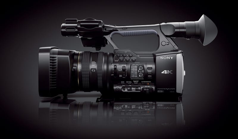 Illustration for article titled Sony AX1: A 4K Camcorder That Doesn't Cost Ten Grand