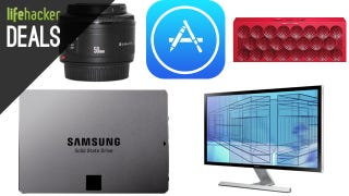 Illustration for article titled Your New 4K Monitor for $600, Samsung 840 EVO, iTunes Credit