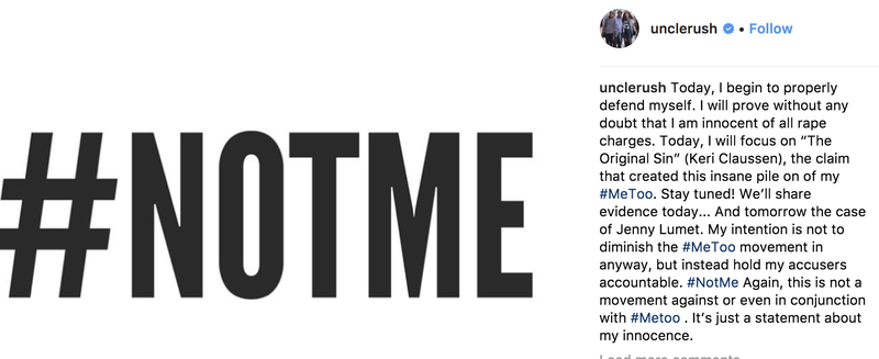 @unclerush via Instagram screenshot