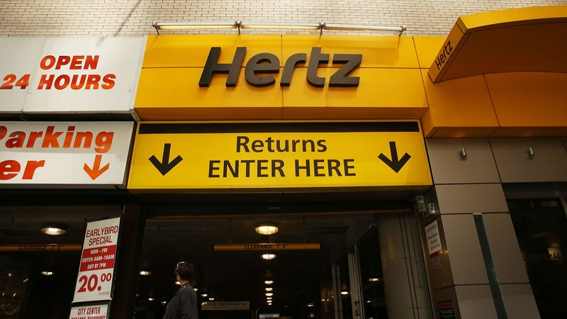 Car rental company Hertz falls on bigger-than-expected loss
