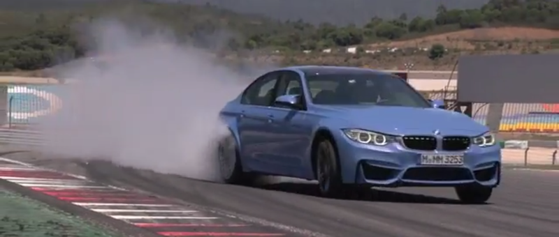 Illustration for article titled Watch And Listen As The 2015 BMW M3 Goes Ballistic On Track