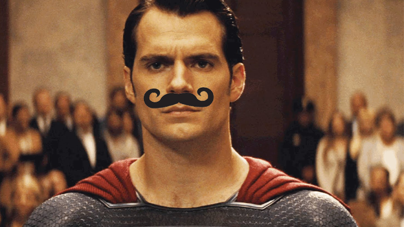 Image: Warner Bros. Mustache added for Dramatic Effect.
