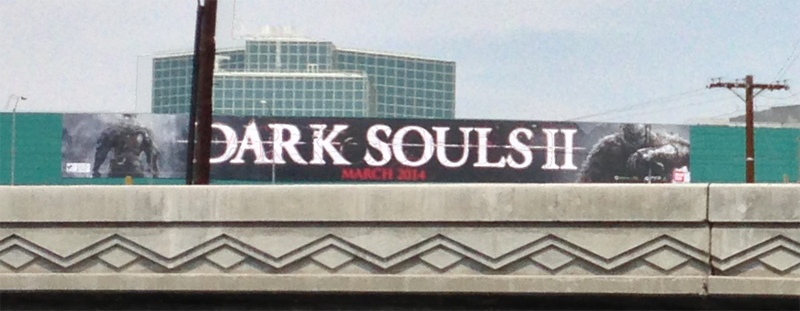 Illustration for article titled Dark Souls II Coming March 2014, Says E3 Sign