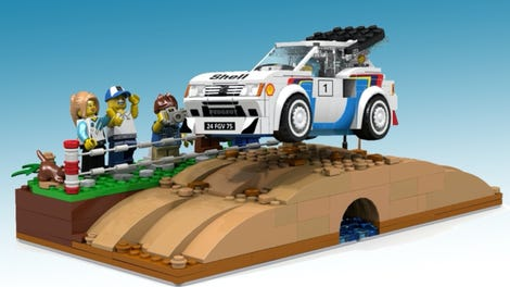 Lego Porsche Crash Test Reminds Us Why We Don't Build Cars Out Of Lego