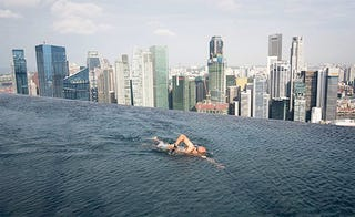 Illustration for article titled Careful Not to Backstroke Over the Edge of Singapore