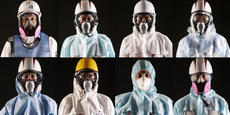 Workers of Fukushima Daiichi (Christopher Furlong / Getty)