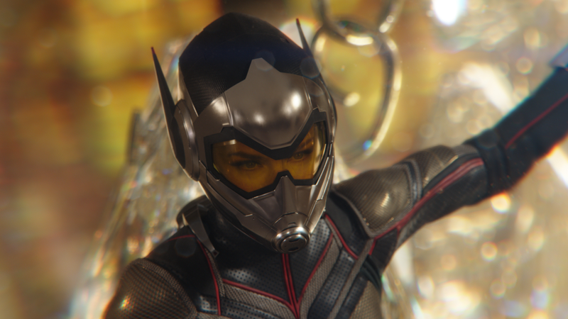 Evangeline Lily as The Wasp.
