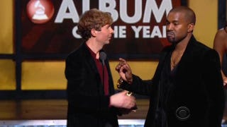 Illustration for article titled Kanye: Beck Must 'Respect Artistry' and Give His Grammy to Beyoncé