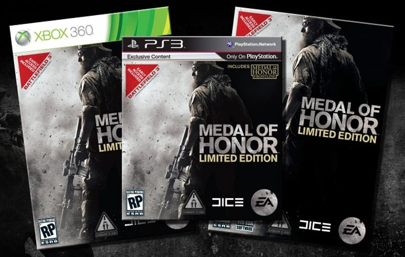 Illustration for article titled There's A Battlefield 3 Beta Invite In Your Medal Of Honor Limited Edition