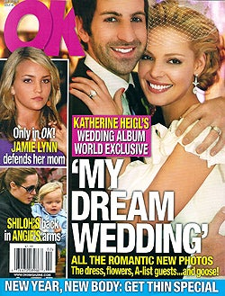 Illustration for article titled This Week In Tabloids: Katherine Weds; The Jolie-Pitts Continue To Exist