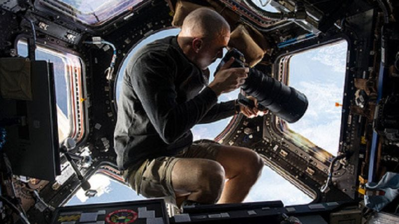 Illustration for article titled Here are some photos taken by astronauts that look like shots from Gravity