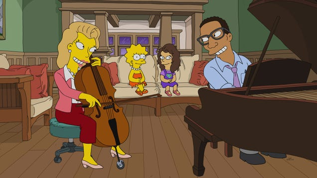 Lisa finds a new family as a tossed-off Simpsons tempts us to do the same
