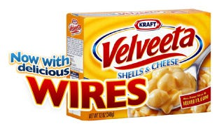 Illustration for article titled Kraft Recalls 137,000 Velveeta Products With Dangerous Metal Wires In Them